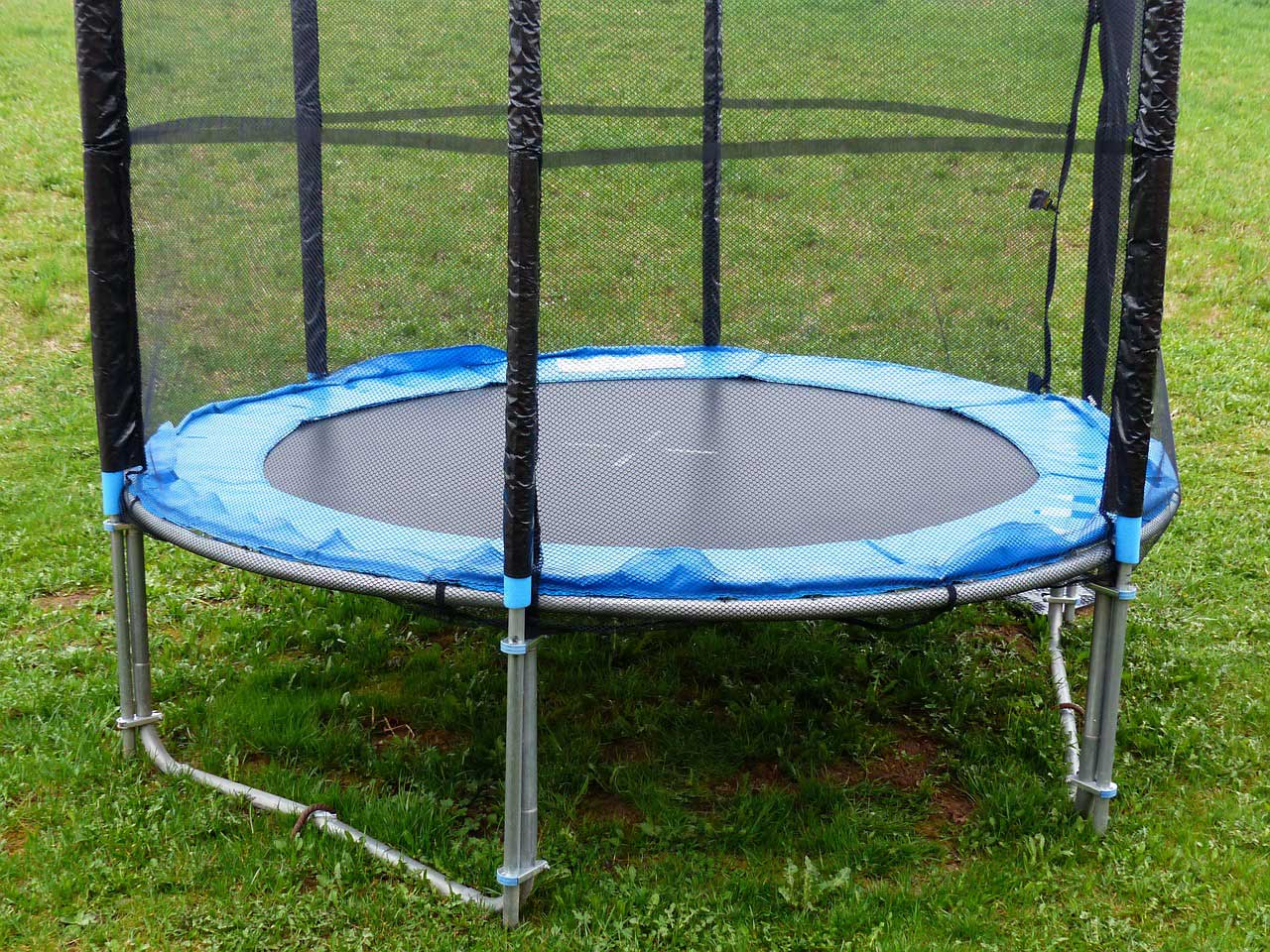 Test Gartentrampolin